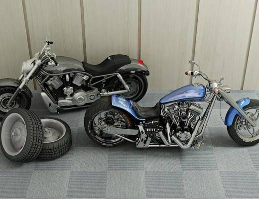 摩托车, 机动车, 现代