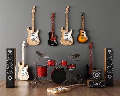 乐器, 吉他, 音响