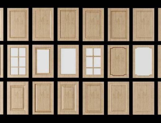 橱柜门板, 门板组合, 现代