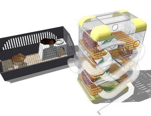 仓鼠屋, 宠物, 笼子