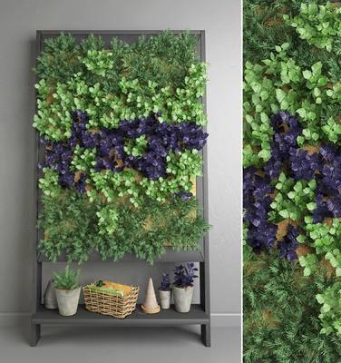 植物墙, 绿植, 植物, 现代, 植物背景墙