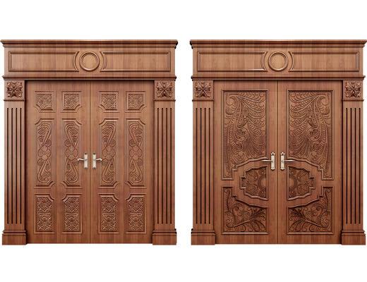 门, 美式门, 美式, 门构件, 构件