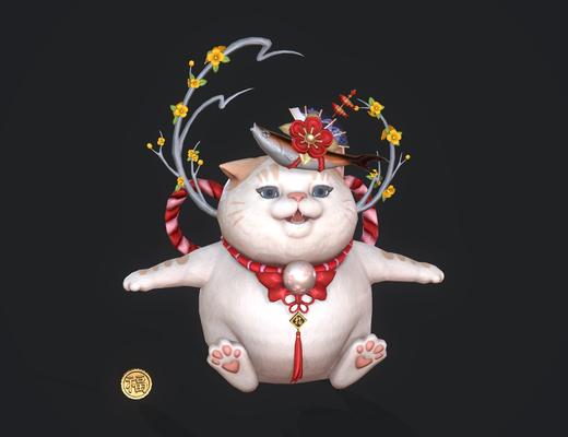招财猫, 宠物桃花猫