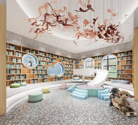 图书馆, 幼儿园