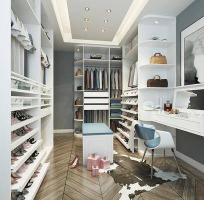 衣帽架, 更衣室, 镜子, 服饰, 衣柜, 椅子