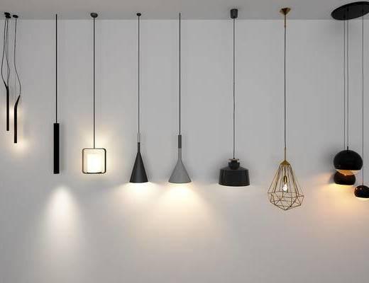 金属床头灯, 床头吊灯, 灯具, 灯饰