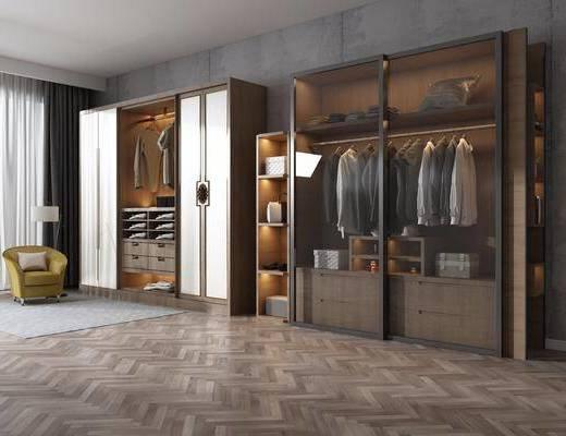 衣柜, 服饰, 新中式