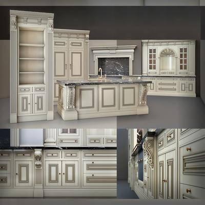 橱柜, 厨柜, 欧式, 简欧, 古典