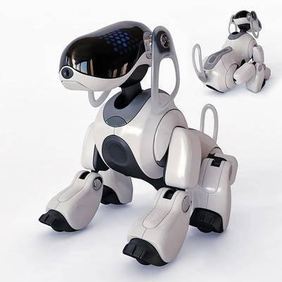 狗, 玩具, 机器, 现代