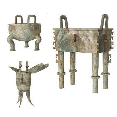 古代, 青铜, 文物, 摆件
