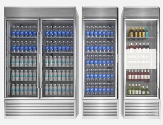 现代, 冰柜, 冰箱, 单体