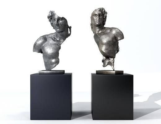 装饰品, 摆件组合, 雕塑, 雕刻