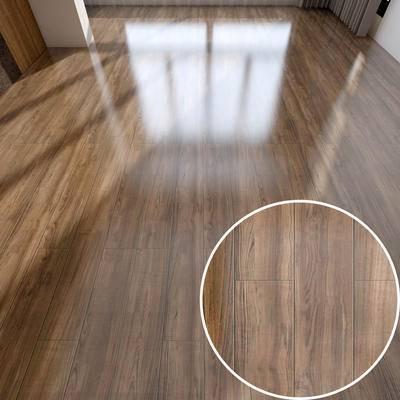 工字拼木地板, 高光木纹
