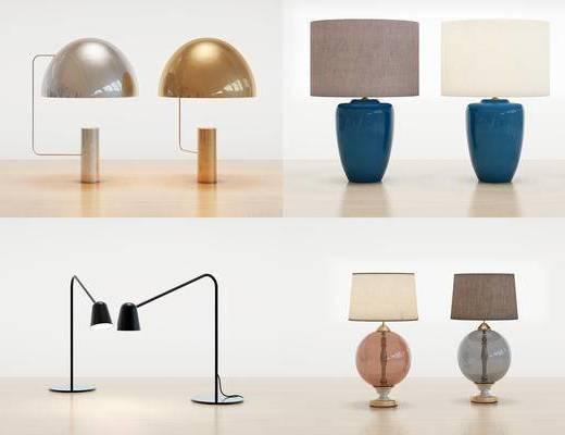 台灯, 灯具