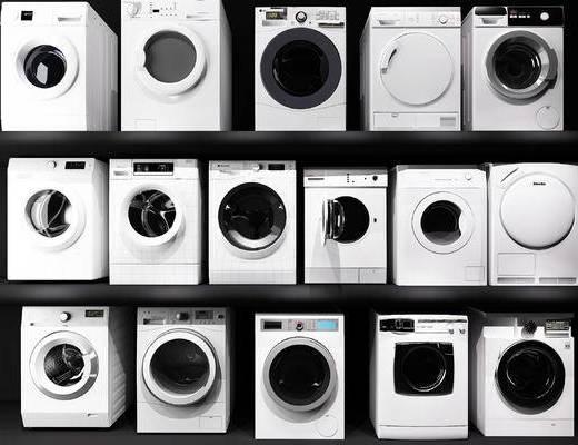 洗衣机, 滚筒洗衣机