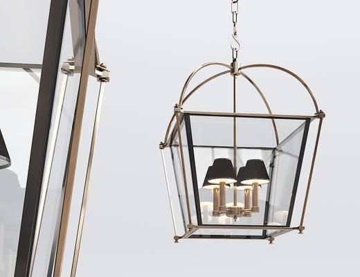吊灯, 金属吊灯, 灯具, 灯饰