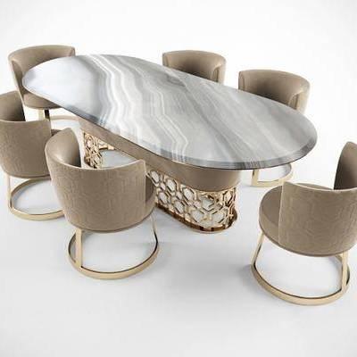 餐桌, 餐椅, 现代