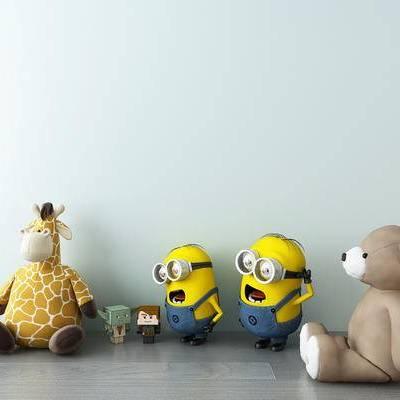 玩偶, 玩具, 小黄人