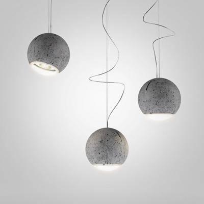 水泥吊灯, 现代
