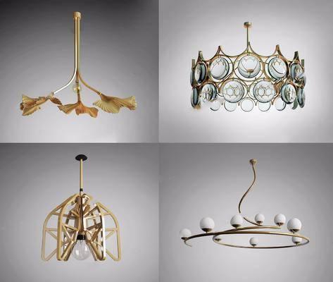 吊灯, 后现代吊灯, 灯具