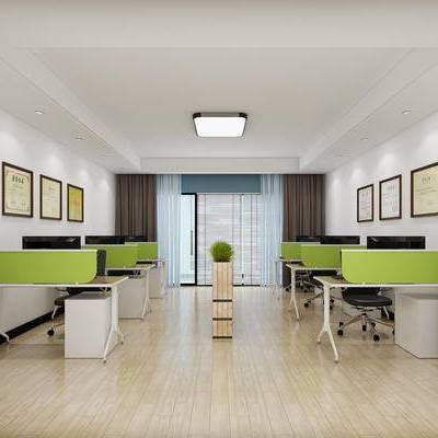 办公室, 办公区, 办公桌, 办公椅, 办公桌椅, 办公用品