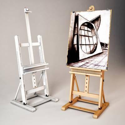 画架, 画板, 木架, 现代