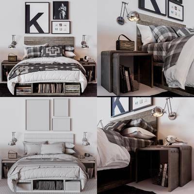 床具组合, 单人床