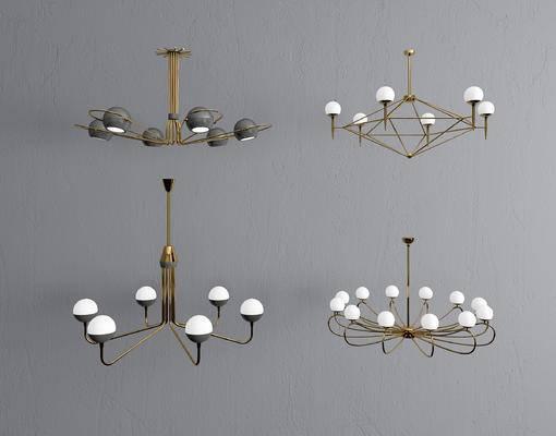 现代吊灯, 北欧吊灯, 吊灯