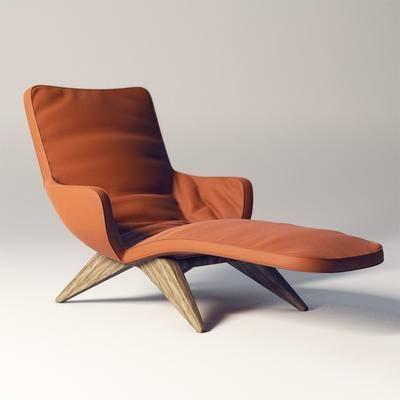 单椅, 现代椅, 休闲椅, 躺椅, 休闲躺椅, 艺术, 现代, 休闲