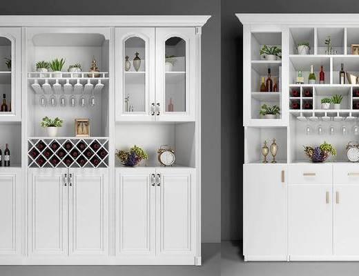 酒柜, 木柜, 美式柜, 欧式柜