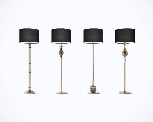 现代, 轻奢, 落地灯, 灯具