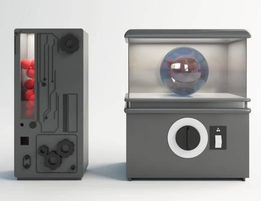 现代, 盲盒机, 单体