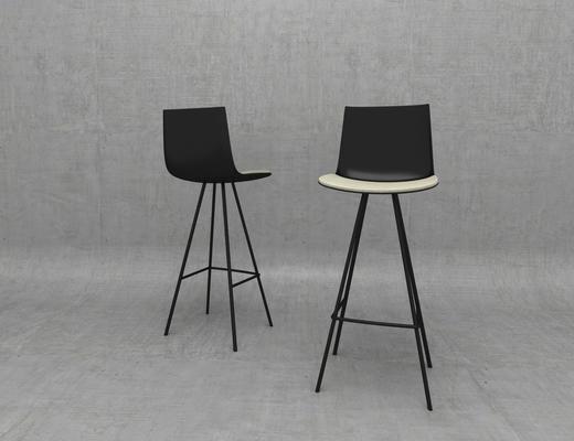 吧椅, 椅子, 现代, 欧式
