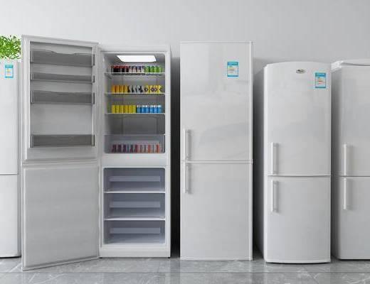 冰柜, 冰箱, 电器
