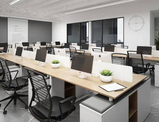 現代, 辦公區, 辦公室