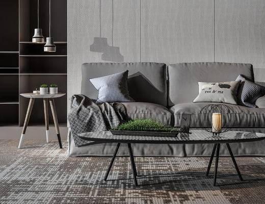 沙发组合, 现代沙发, 现代沙发茶几组合, 沙发茶几组合