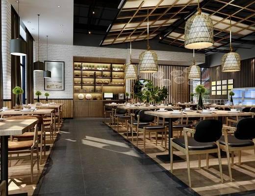 现代风餐厅