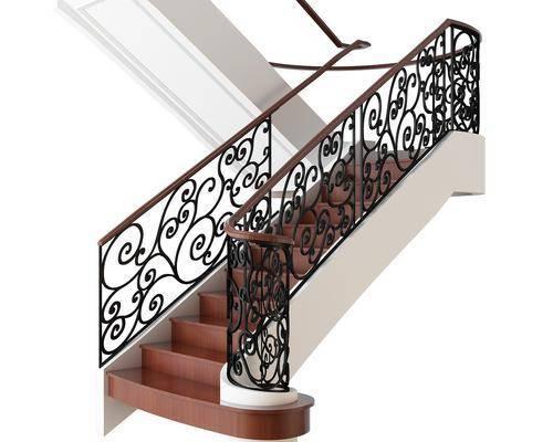 楼梯, 欧式
