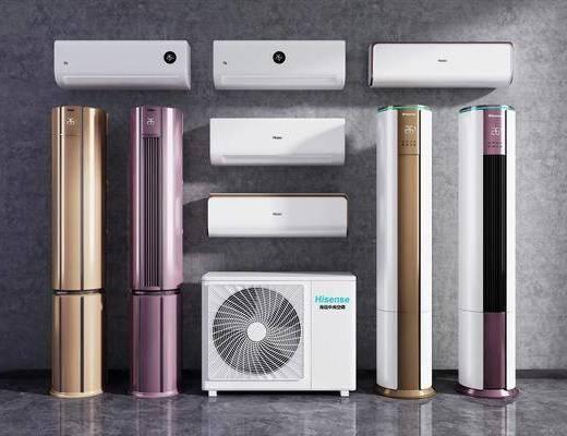 现代, 空调, 柜机, 单体