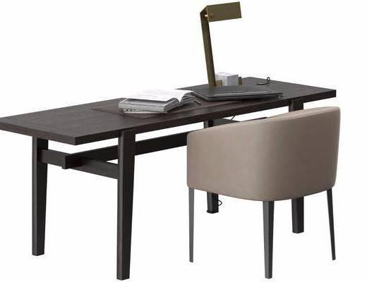现代简易书桌椅
