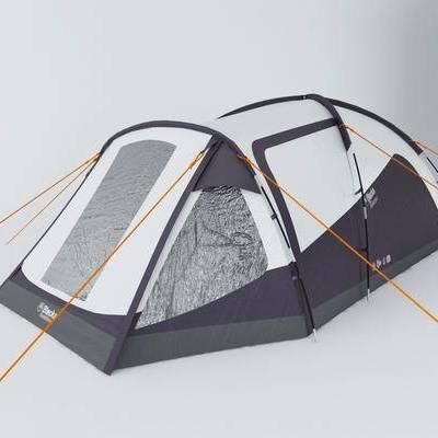 露营包, 现代
