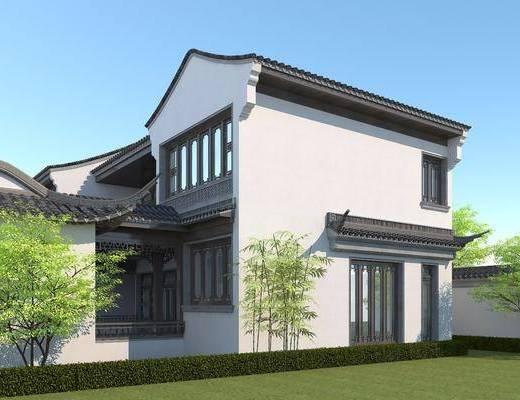 中式, 别墅