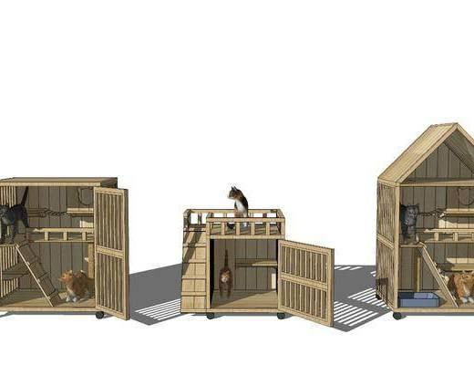 猫舍, 猫屋, 猫别墅
