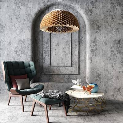 现代单椅, 现代休闲椅, 现代椅子