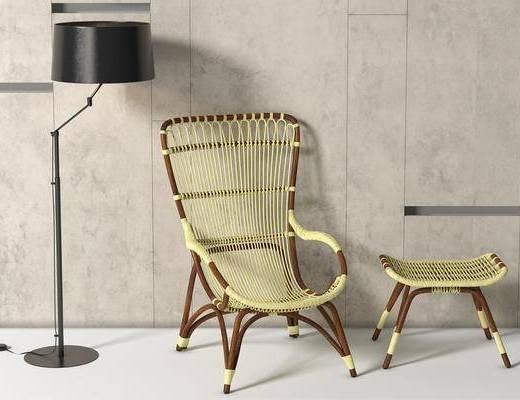 休闲椅, 藤椅, 躺椅