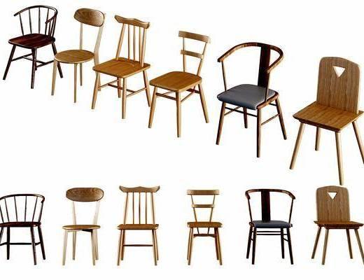 现代, 单椅, 椅子, 现代椅子