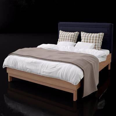 双人床, 现代