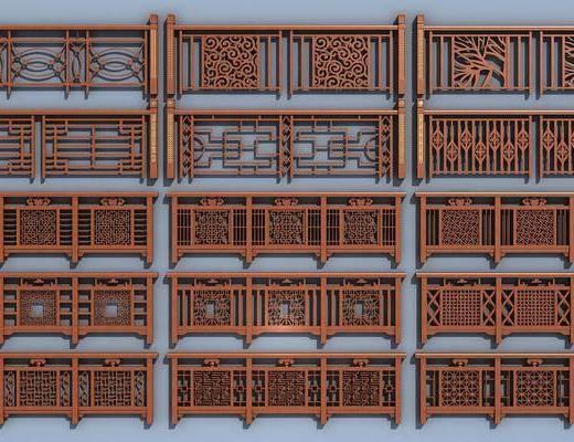 新中式护栏, 护栏, 栏杆
