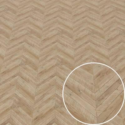 鱼骨拼木地板, Vray材质, 木纹材质