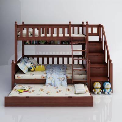 上下铺, 单人床, 床具组合
